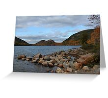 'The Bubbles, From Jordan Pond' Greeting Card
