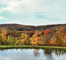 Bolton Valley Pond by Deborah  Benoit