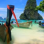 Thailand - Boats and Beaches by Matthew Smith