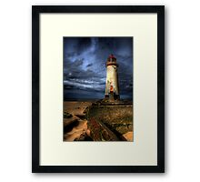The Abandoned Lighthouse Framed Print