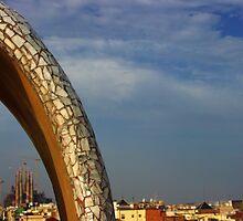 Barcelona Skyline by openyourap
