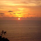 Sunset in Bali by Sanjam's Eye