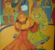 indian classical dance by zoyi