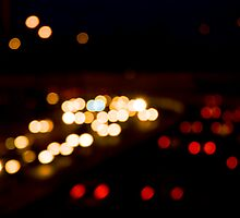 Rush Hour Bokeh by Motti Golan