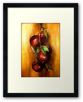 Apples....A Still Life.. by © Janis Zroback