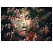 Pink Confetti Photographic Print