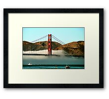 North Tower Framed Print