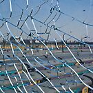 Broken Safety Glass Barrier by RatManDude