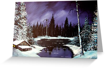 winter night by jentson