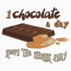 Chocolate - 1 chocolate a day... by Kartoon