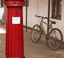 Victorian Post Box by Eugene Francis Cummings