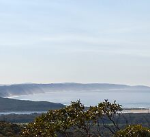 View from Monkey Rock on a hazy morning by pennyswork