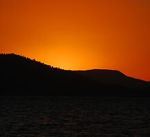 Sunset at Airlie beach by Joshdbaker