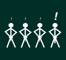 Stick men are not created equal by EDLFDESIGNS