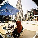 The new New York with parasols and Flat iron by BingBangVision