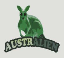 AustrAlien t-shirt by valizi