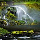 Selja Land Foss in Iceland by julayneluu