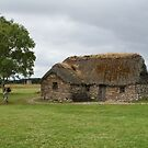 Old Leanach Cottage, Culloden Battlefield by laurawhitaker