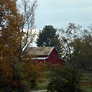 Autumn Barn by KBSImages