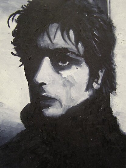 Portrait of Syd Barrett by Jeremy Dattilo