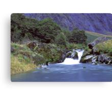 Gertrude Valley, Fiordland National Park Canvas Print