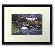 Gertrude Valley, Fiordland National Park Framed Print