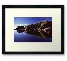 Ship Creek, South Westland Framed Print