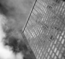 Office Tower With Reflections by Ross Jardine