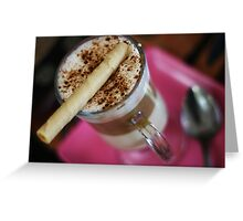 Cappuccino for a Cause Greeting Card