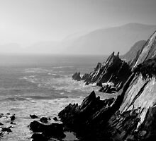 The cliffs of Dingle, Ireland by Mitch ( Michelle) McFarlane