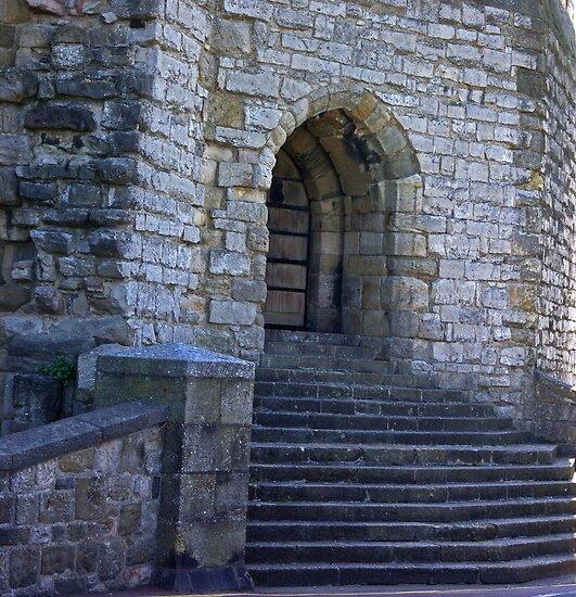 Doorway To The Castle by Trevor Kersley