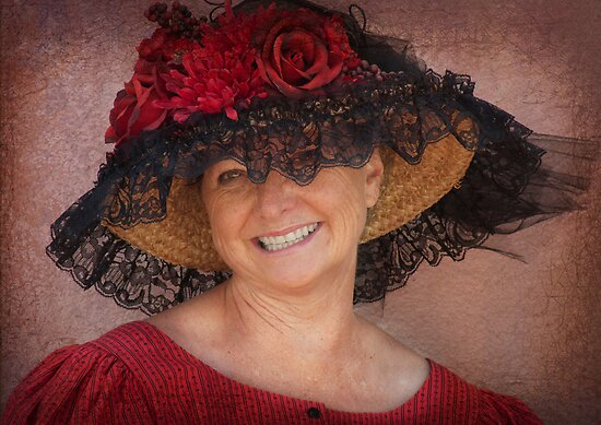 Lady in Red by Linda Gregory