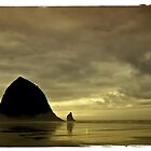 Haystack Rock by IKeepScreaming