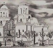 San Xavier Mission by gcampbell