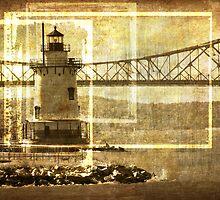 Lighthouse In Sleepy Hollow  by M a r i e B a r c i a