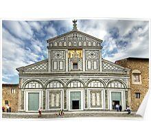 San Miniato al Monte - Florence Poster