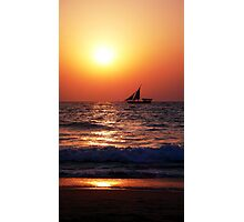 The fisherboat Photographic Print