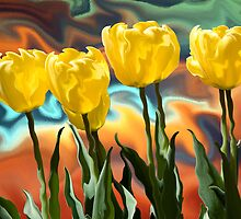 Tulips by James Cole