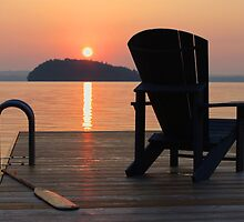 Armchair on the Dock by openyourap