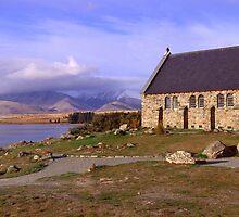 Church of the good shephard by Paul Mercer