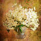 Jasmine in a Vase  by Irene  Burdell