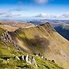 Striding Edge - Helvellyn by David Lewins LRPS