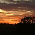 Sunset over North Yorkshire by TREVOR34