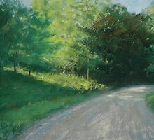 Winding Road by Linda Preece