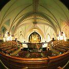 Interior church has Montreal, Quebec, Canada by BingBangVision