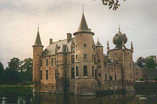 Cleydael Castle  - Belgium by Gilberte