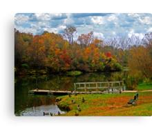 Gorgeous Autumn Canvas Print