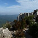 The Castle of Peyrepertuse by HELUA