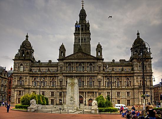 Glasgow City Chambers by Tom Gomez
