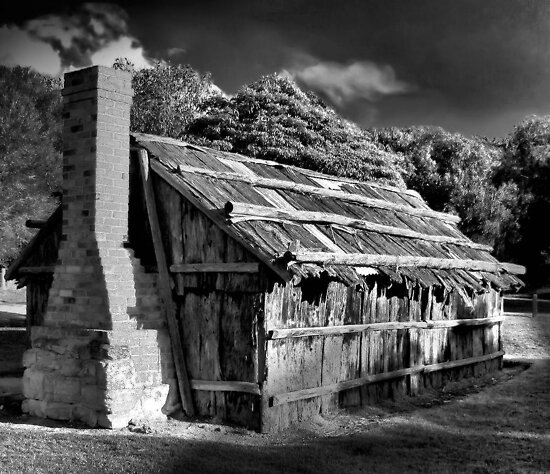 The Bark Hut by Stephen Ruane